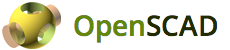 openscad program logo
