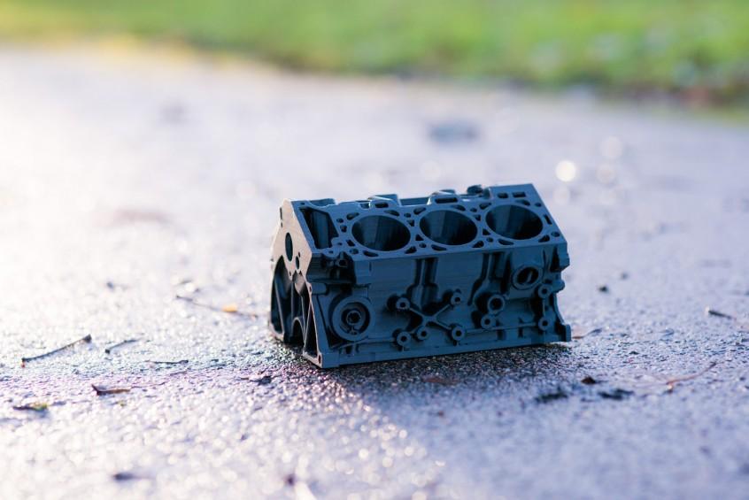 En av alla perfekta 3D-utskrifter från 3D-akuten