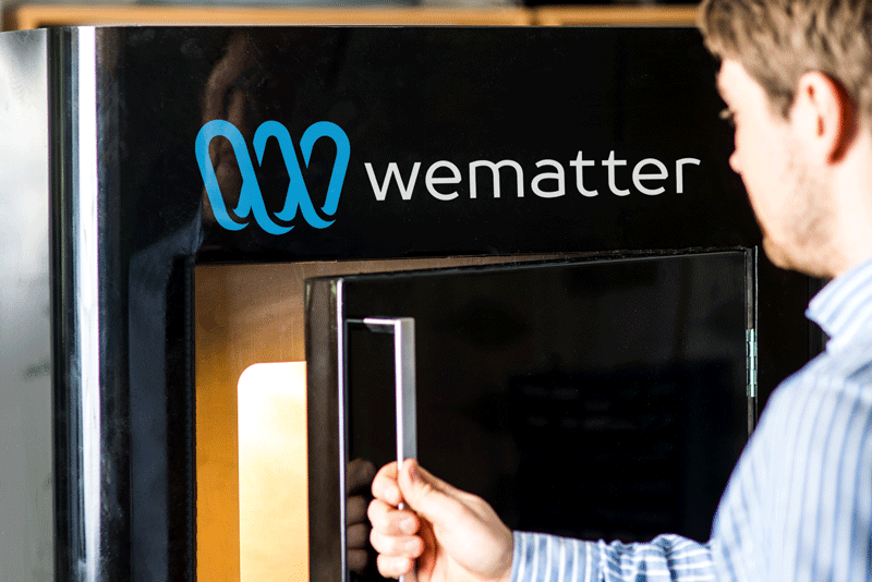 Wematter's Gravity SLS 3D-printer