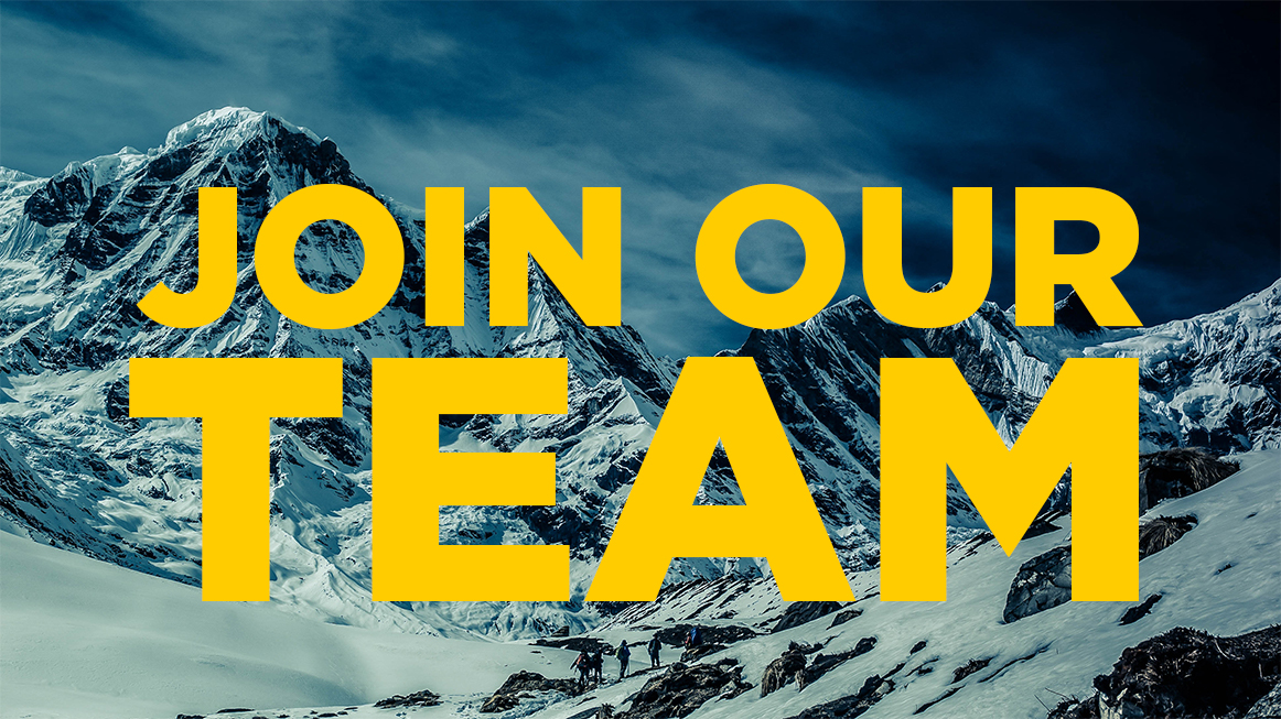 JOIN OUR TEAM MOUNTAIN