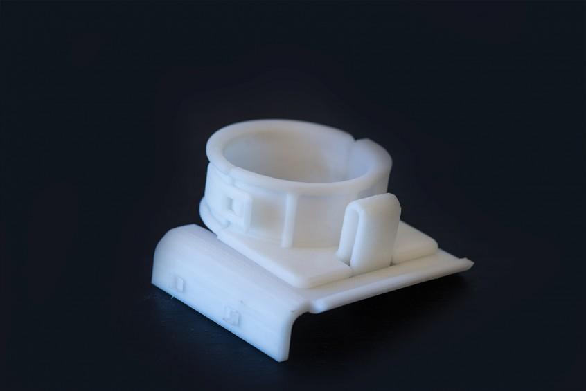 3D-skrivare snäppfäste