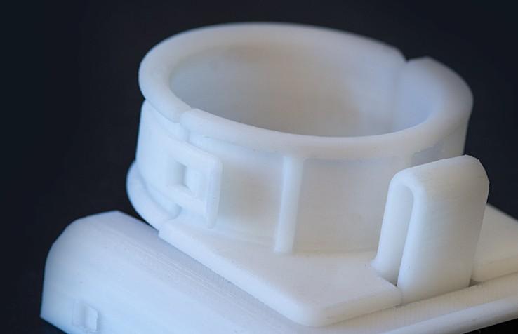 Snäppfästen gjorda med 3D-skrivare