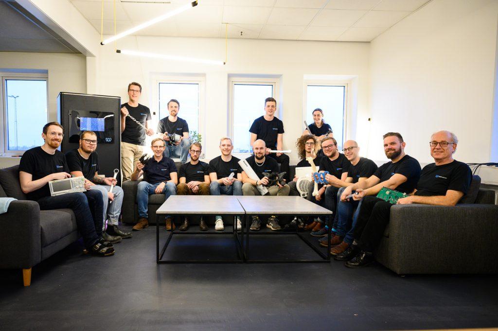 Teamet på Wematter