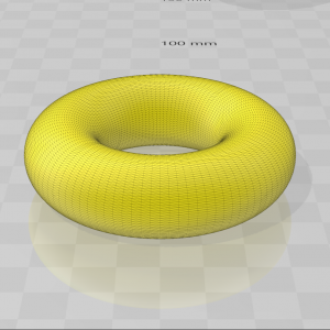 3D Ring-model in high resolution