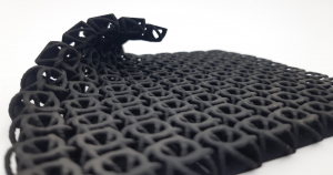 3D-printed model with thin walls