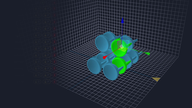 Deep Space allows users to set up and manipulate multiple objects to ensure a successful print job.