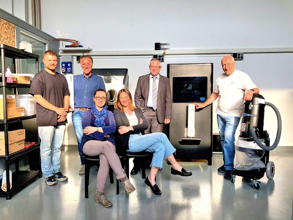 Bologna 3D-teamet ihop med hela ekosystemet Gravity på sitt kontor i Italien
